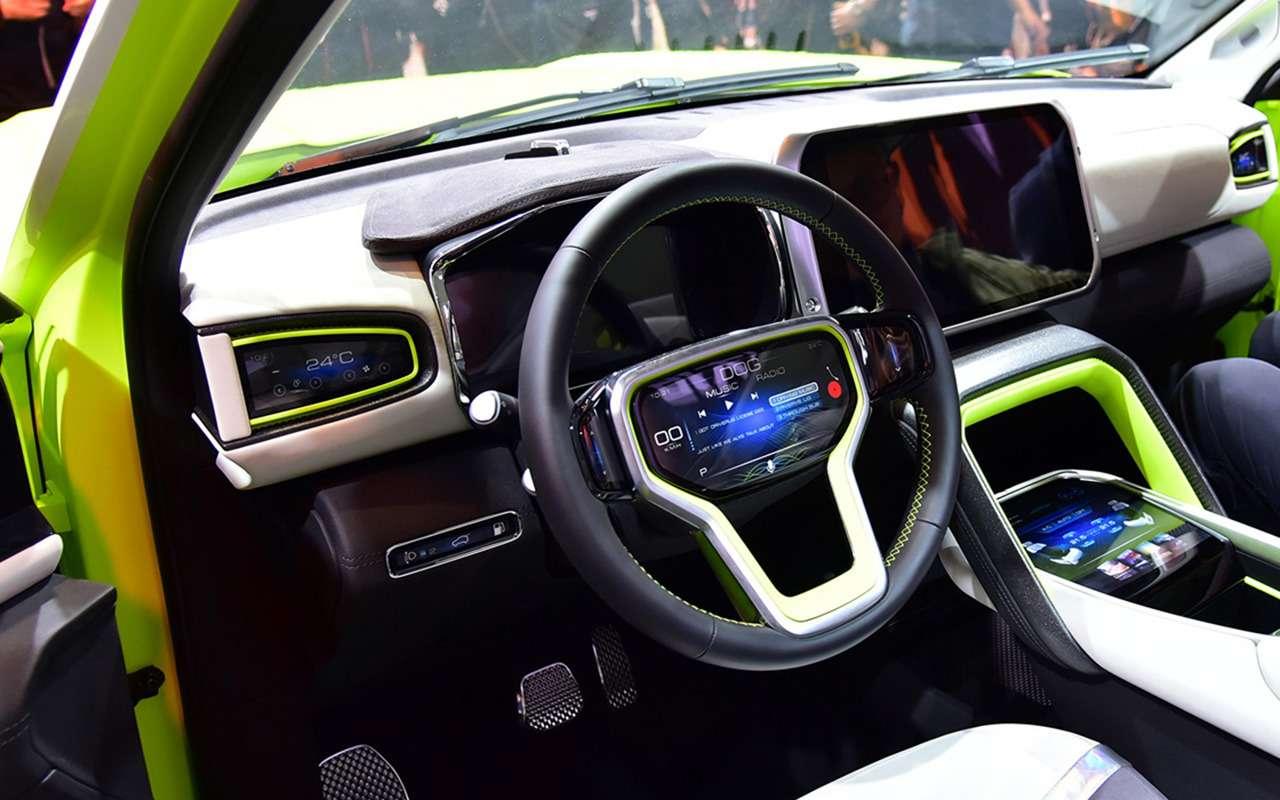 6 новых автомобилей изКитая— ждем вРоссии— фото 1243476