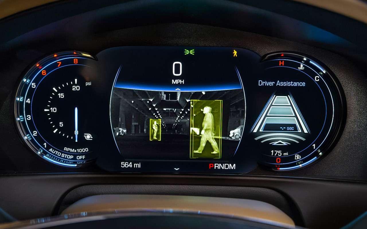 Cadillac CT6: тест-драйв соглядкой наТрампа— фото 867845