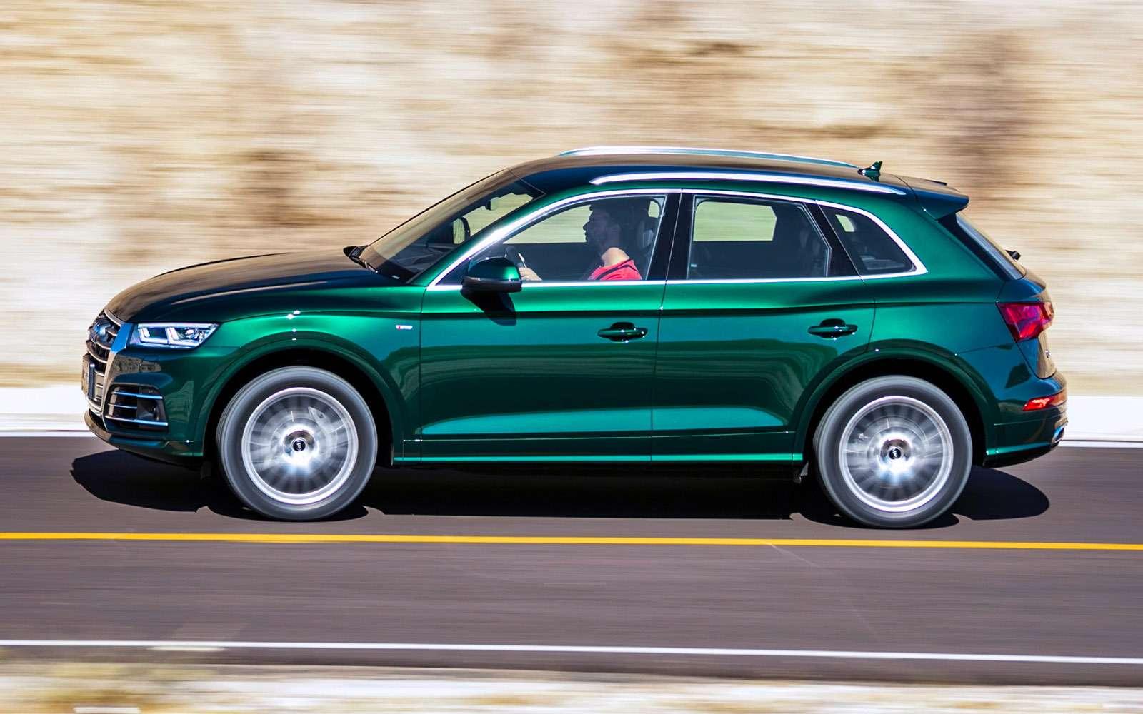 Новый Audi Q5quattro ultra— первый тест— фото 713312