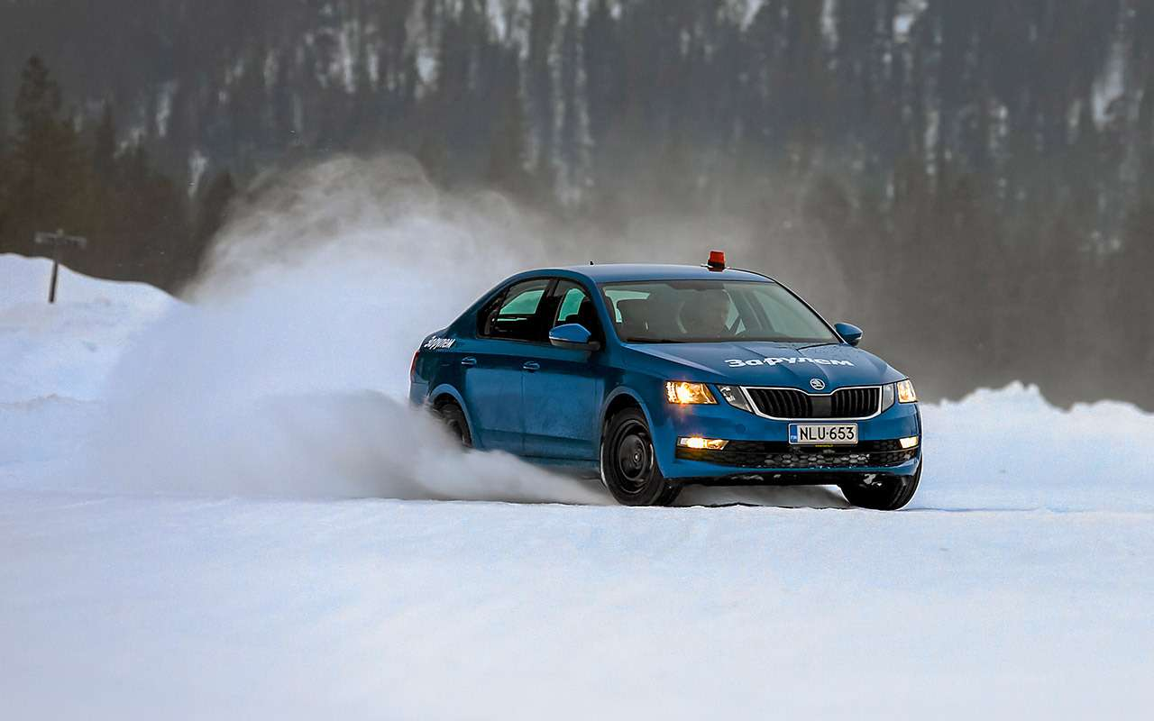 Зимние «липучки»: тест 14 шин на снегу и льду - фото 1172010