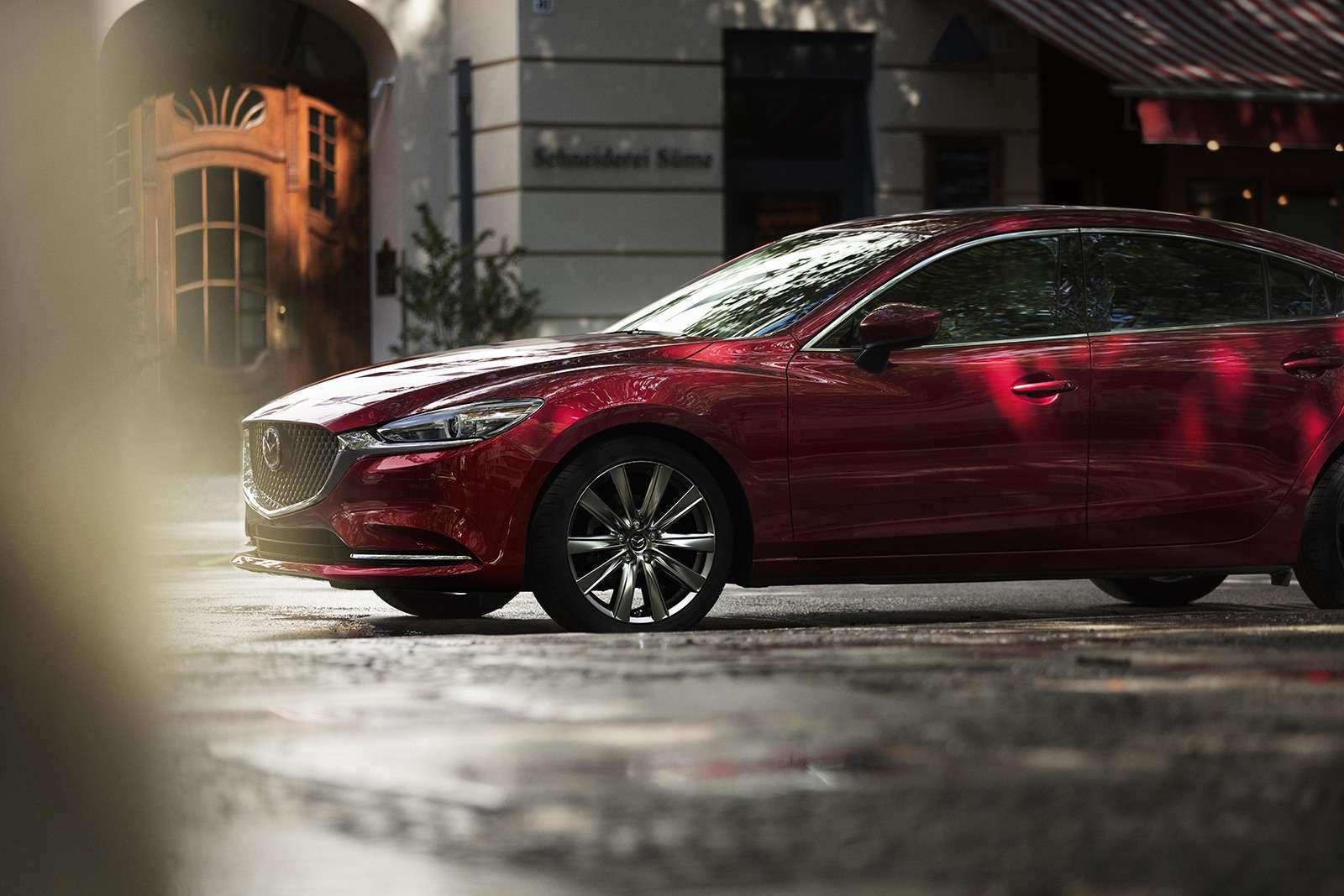 Обновленная Mazda 6— дорого ибогато— фото 821653
