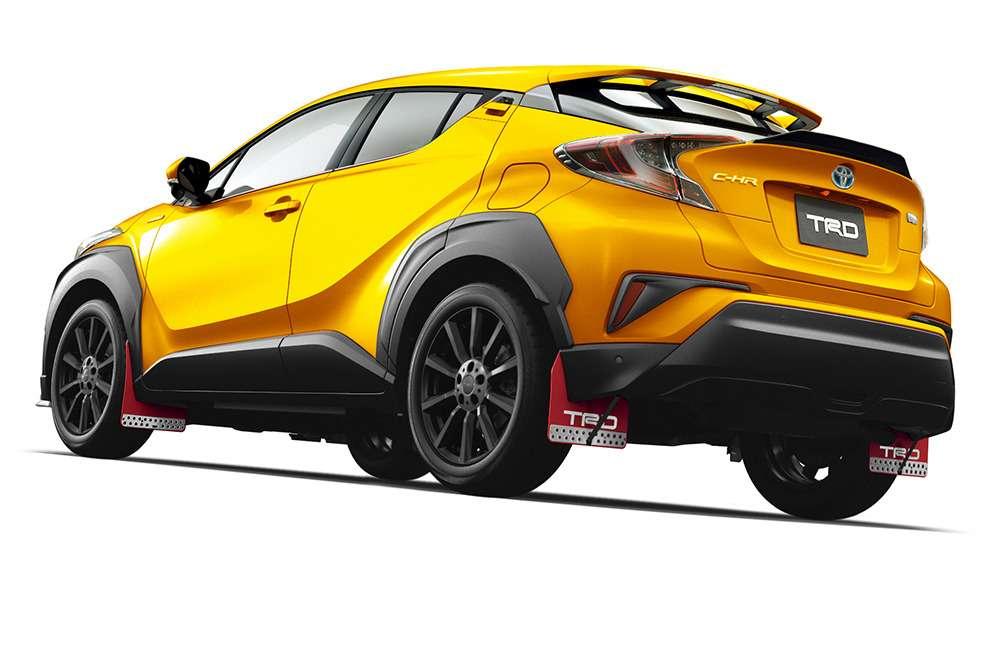 Стиль японский, экстремально-агрессивный: кроссовер Toyota C-HR приоделся удвух «модельеров»— фото 679291
