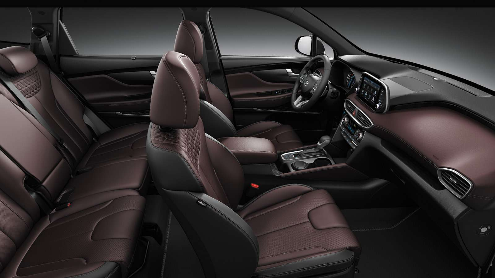 Новый Hyundai Santa Fe: российские цены икомплектации— фото 893457