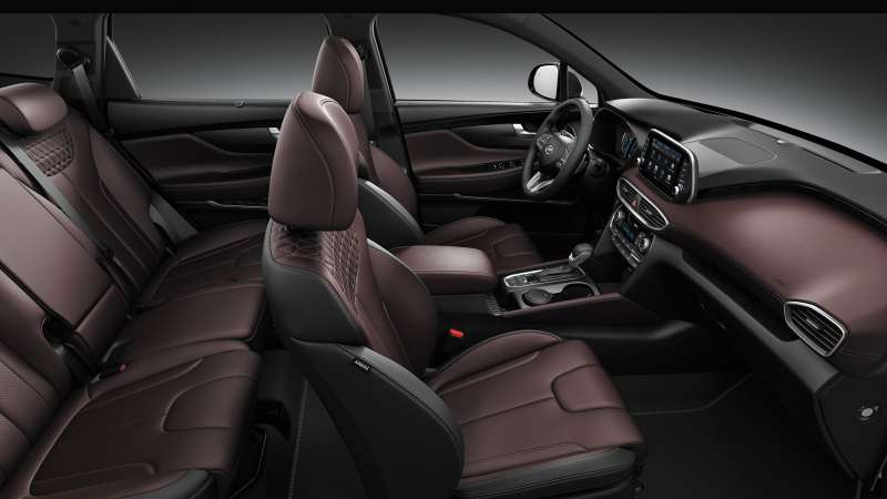 Новый Hyundai Santa Fe: российские цены и комплектации