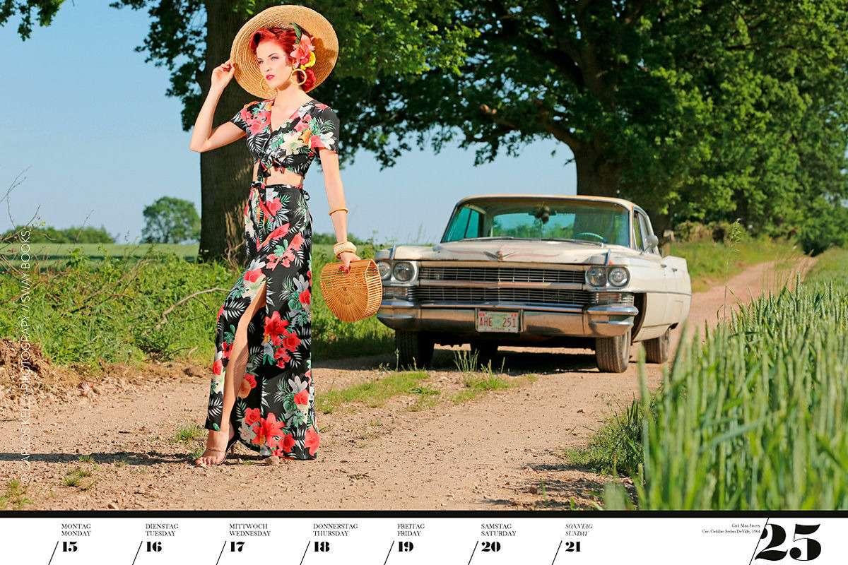 16красоток и29легендарных тачек Америки— ваш календарь-2020— фото 1003765