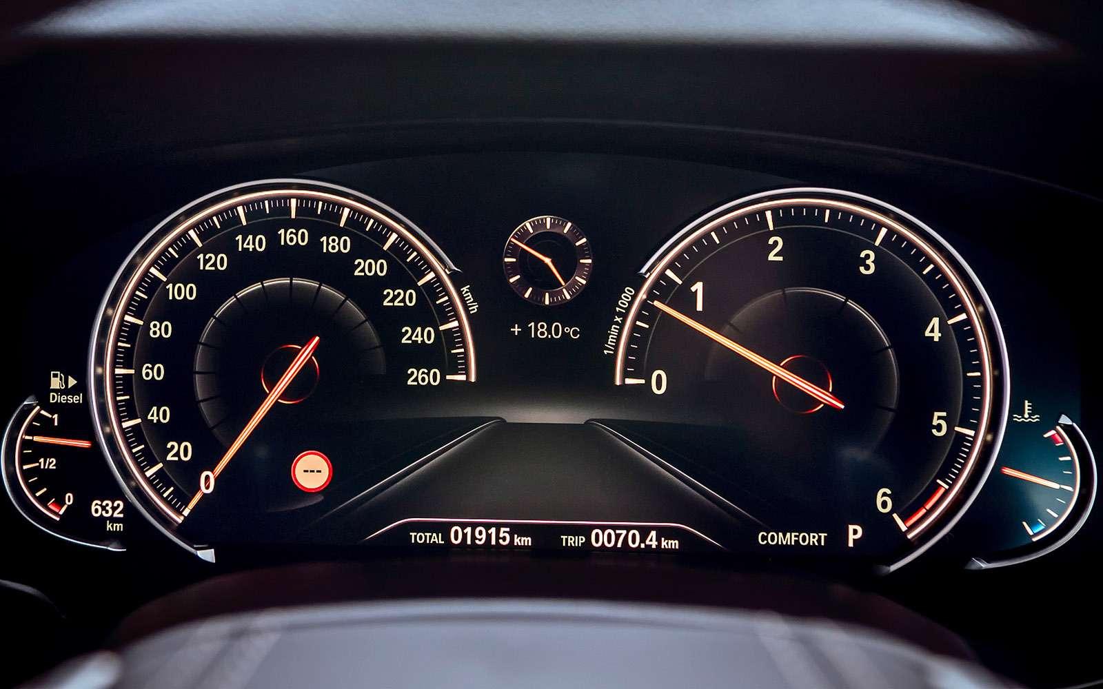 Тест новой «пятерки» BMW: большой брат— фото 685116