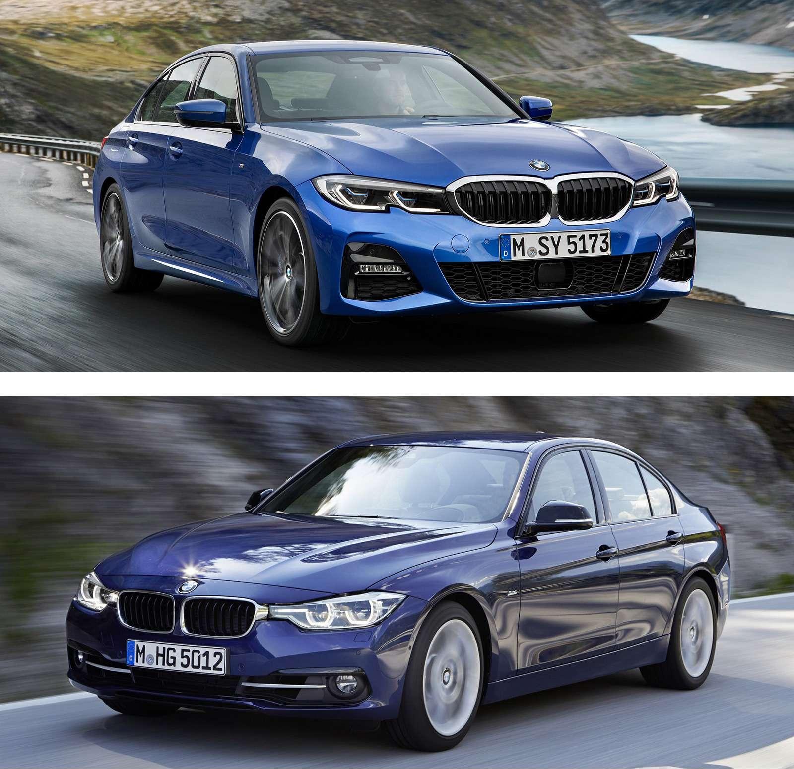 Новая BMW 3-й серии против старой: какая красивее?— фото 912575