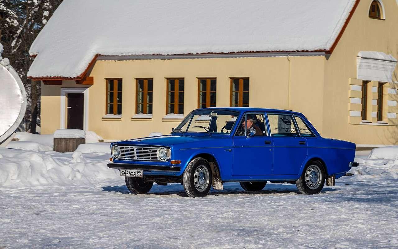 Советские автомобили против иномарок— супертест кюбилею— фото 858375