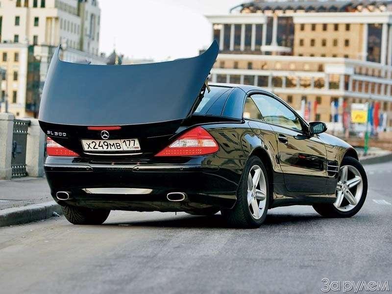 Тест Mercedes-Benz SL500. ЧТО МОГУТ КОРОЛИ— фото 68925