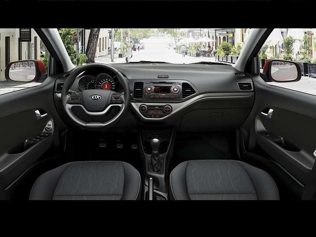 Enhanced Kia Picanto — Interior 1