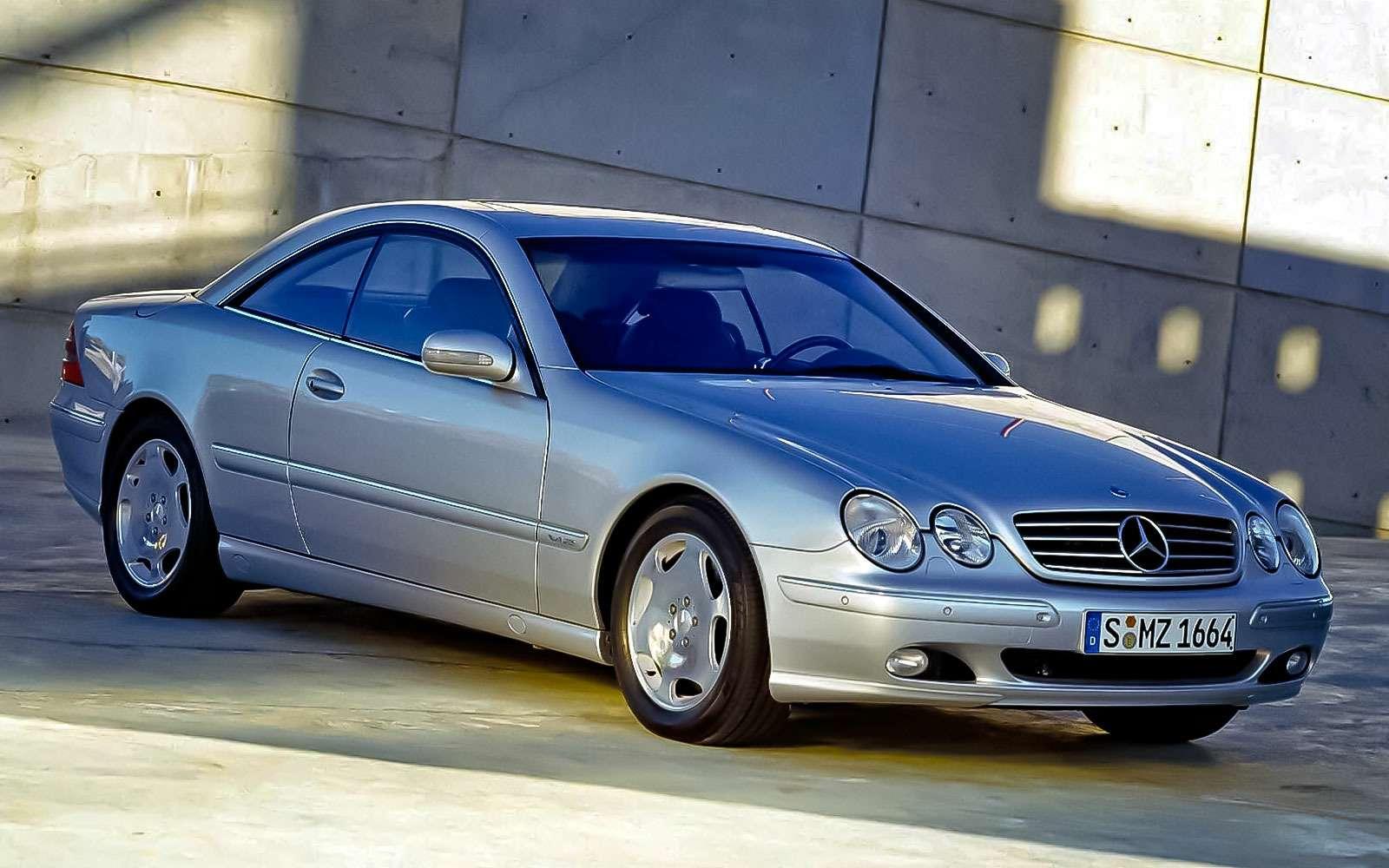 Mercedes-Benz CL500(С215)