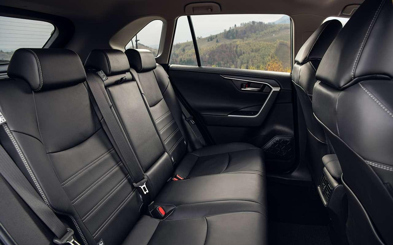 7 важных вопросов кновой Тойоте RAV4. Ответили навсе— фото 1008149