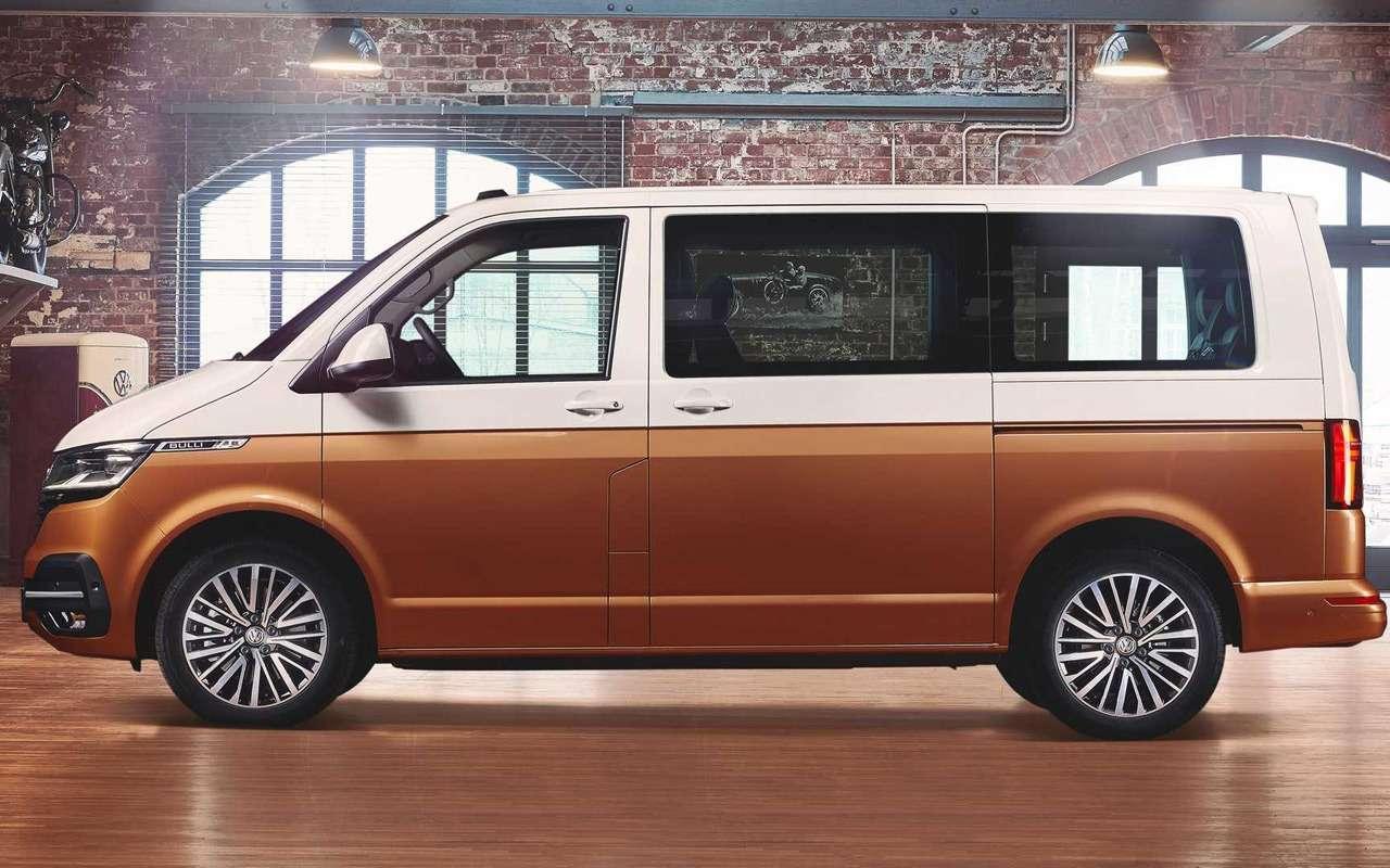 Обновленный Volkswagen Multivan— все изменения— фото 951557