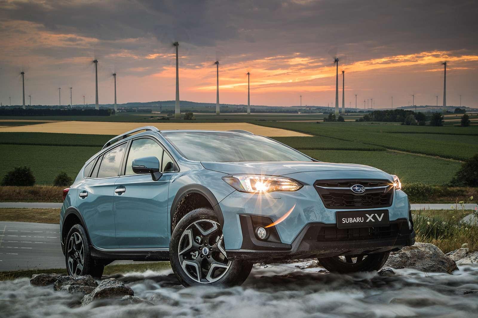Subaru рассказала оновом XVдляРоссии— фото 794757