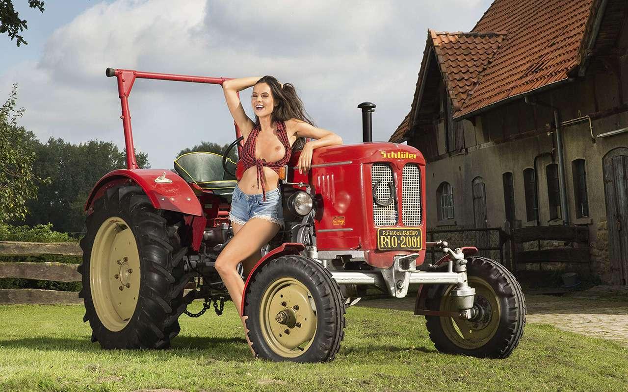 Девушки исельхозтехника: задорный календарь на2019год— фото 930412
