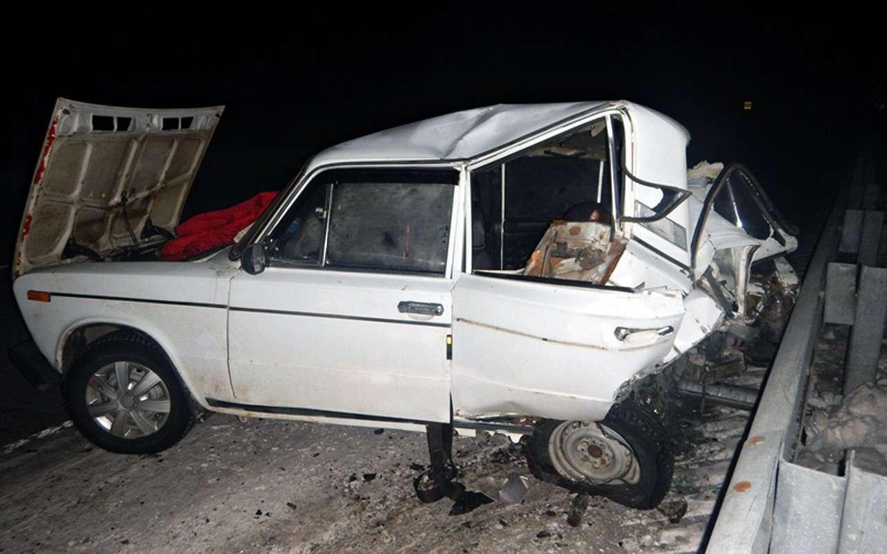 Лишенный прав за«пьянку» водитель устроил ДТП с10пострадавшими— фото 935867