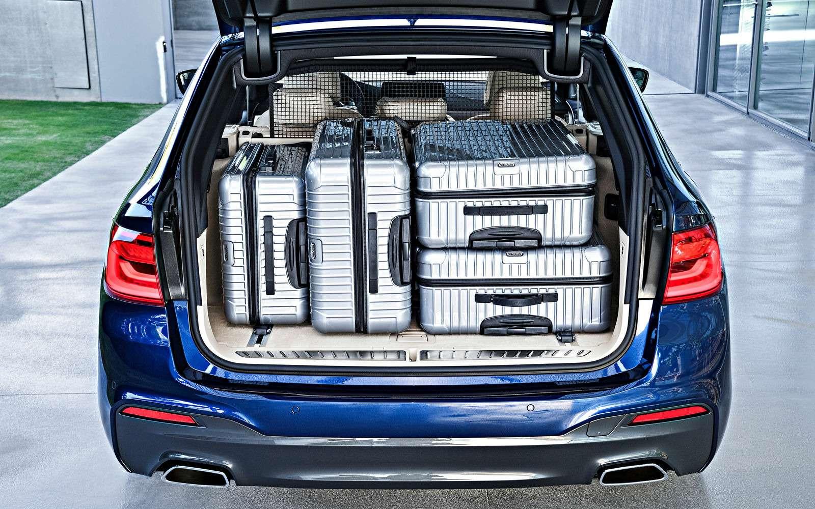 Новая «пятерка» BMW— теперь искузовом универсал— фото 701205