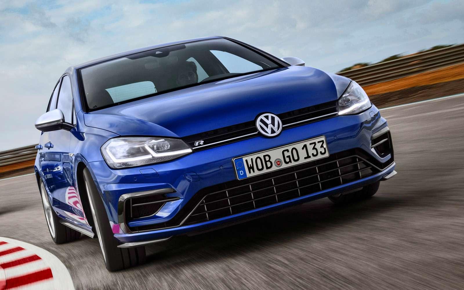 Volkswagen Golf — сравниваем новые версии— фото 755763