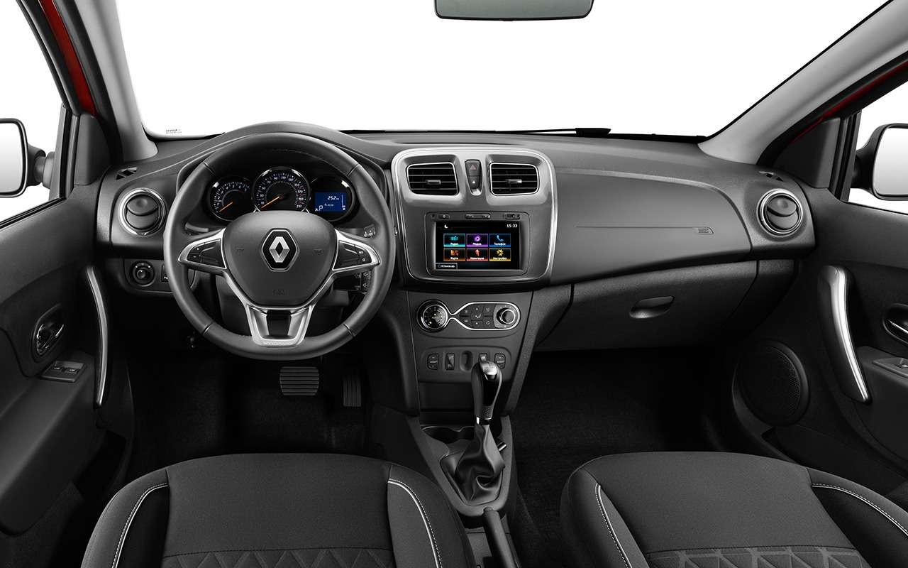 5 причин купить Renault Logan Stepway City свариатором— фото 922399