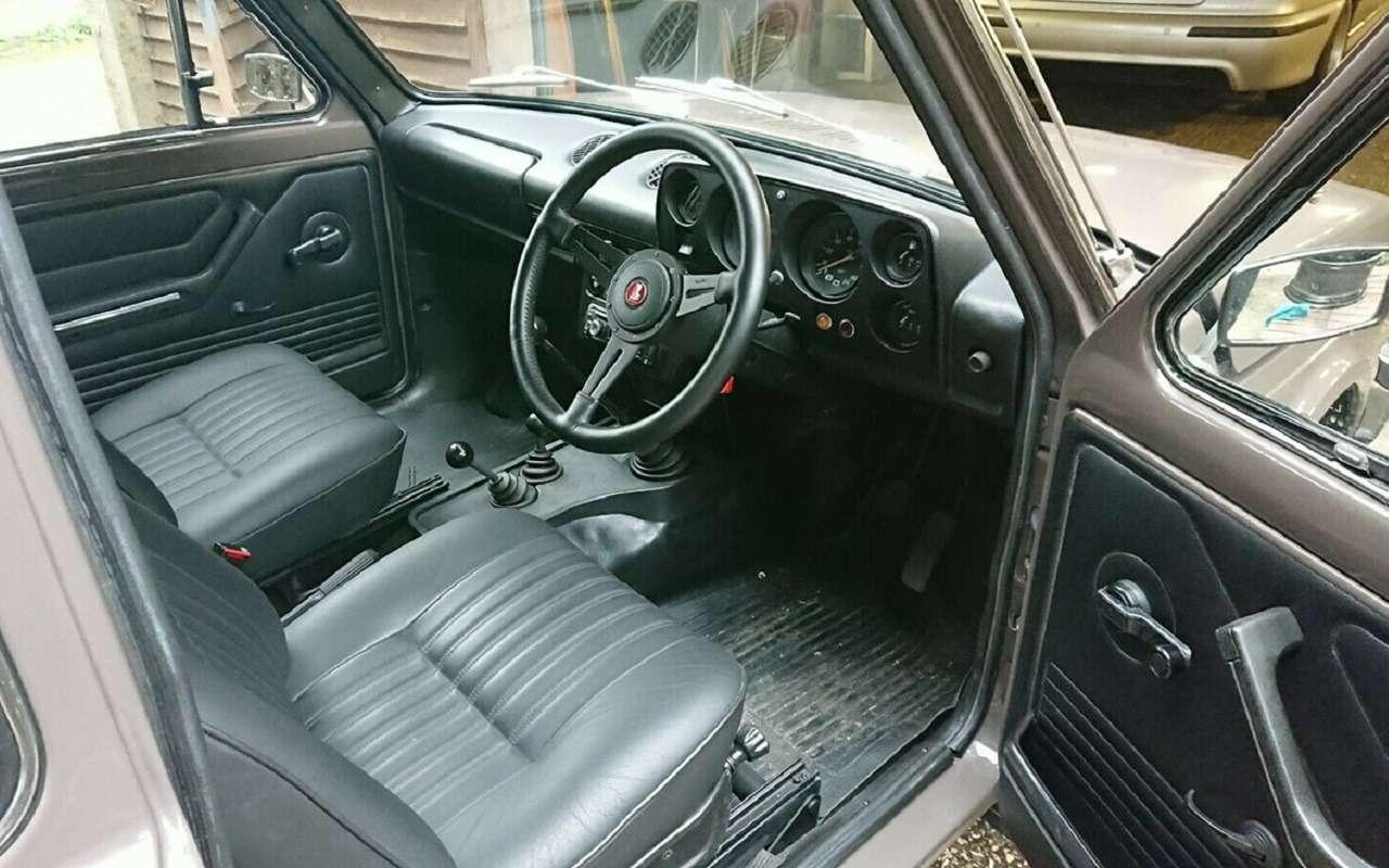 Lada Niva сдвигателем Lancia выставлена наторги