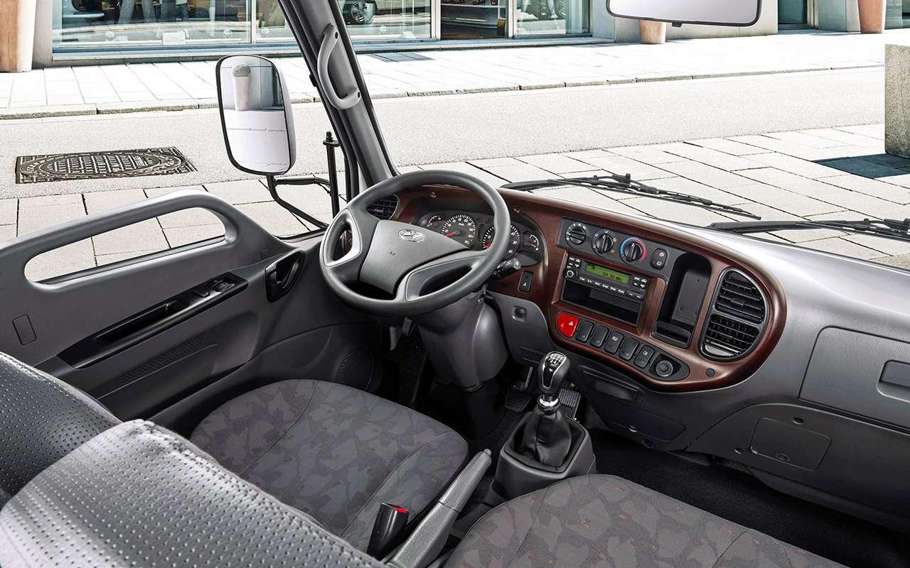 Грузовики Hyundai российской сборки: тест запятый класс— фото 933421