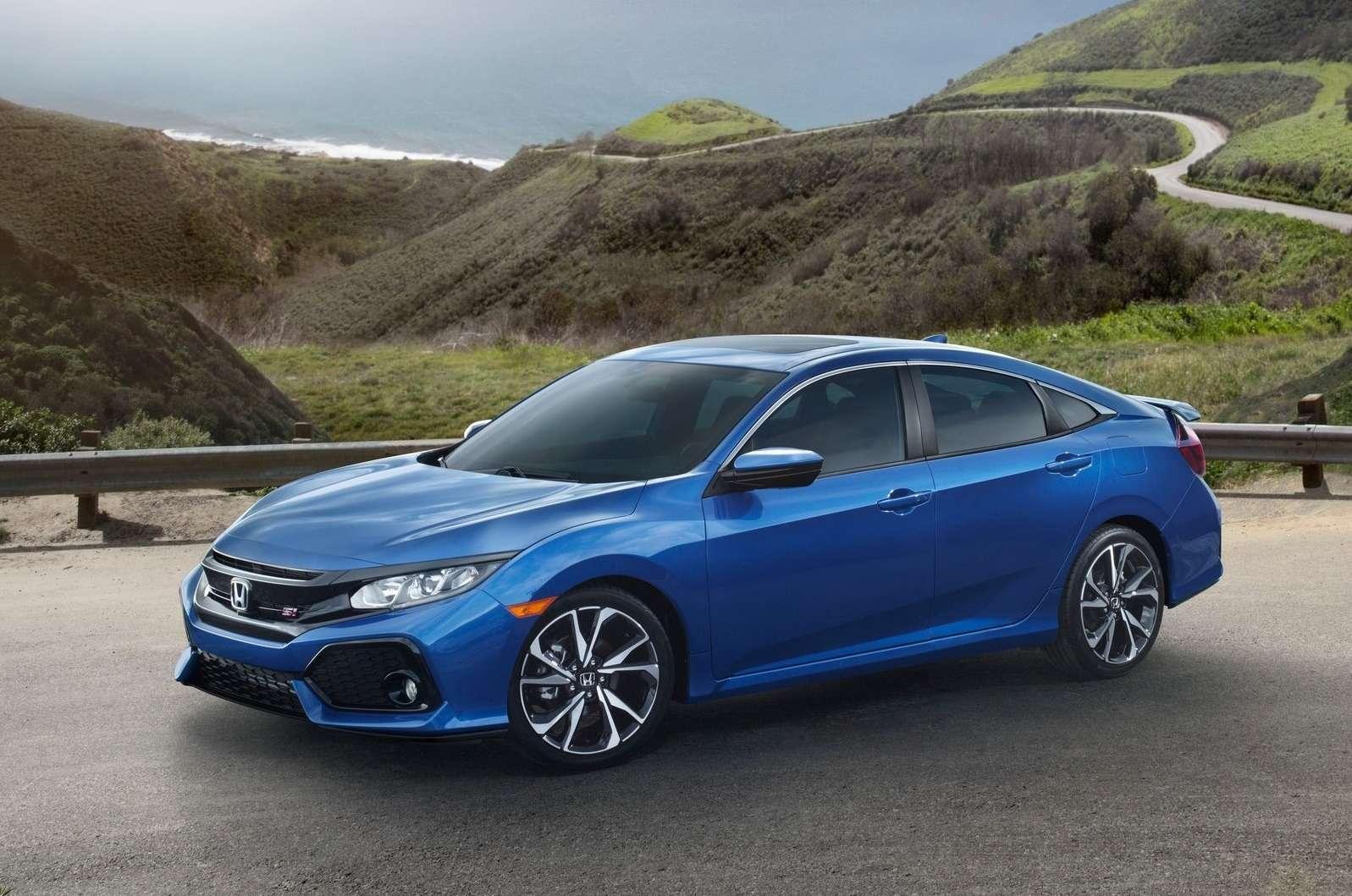 Трехпедальный наддувный: Honda засветила новый Civic Si— фото 733336