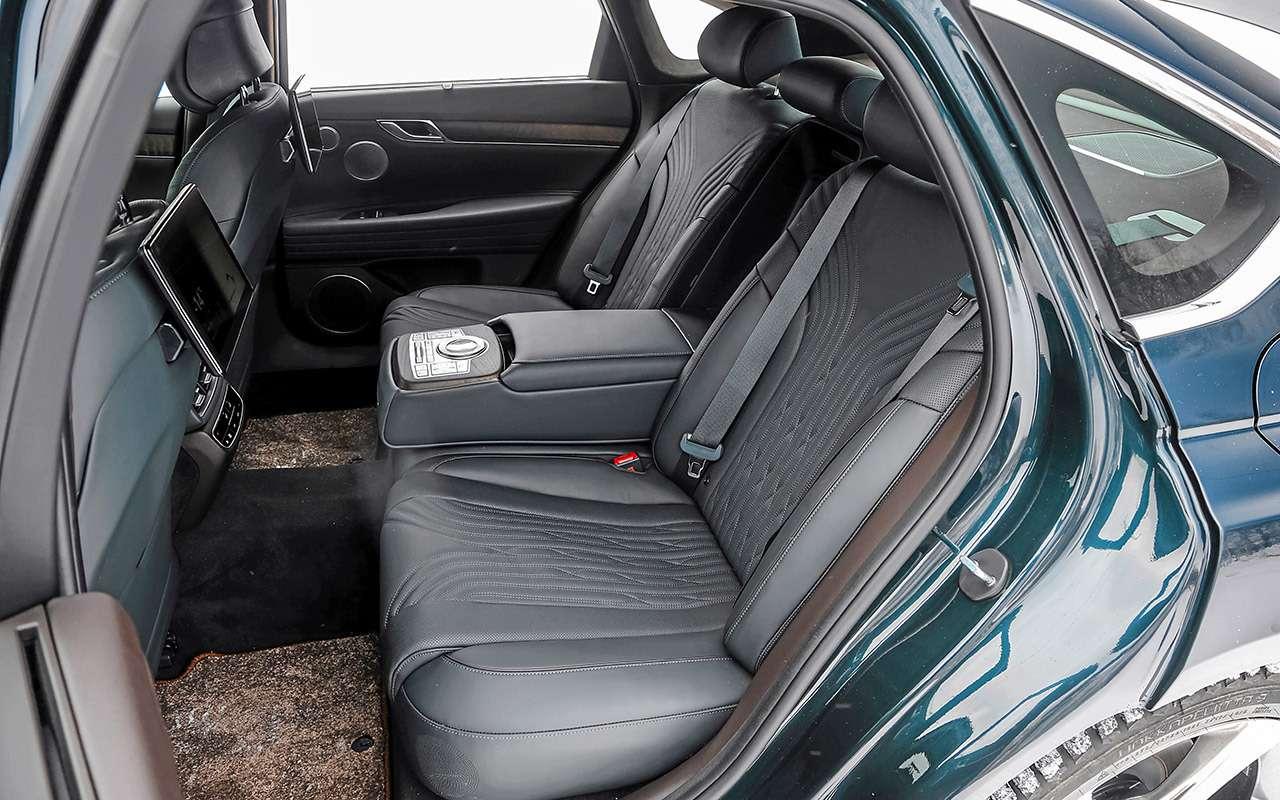 Тест бизнес-седана Genesis G80— фото 1247108