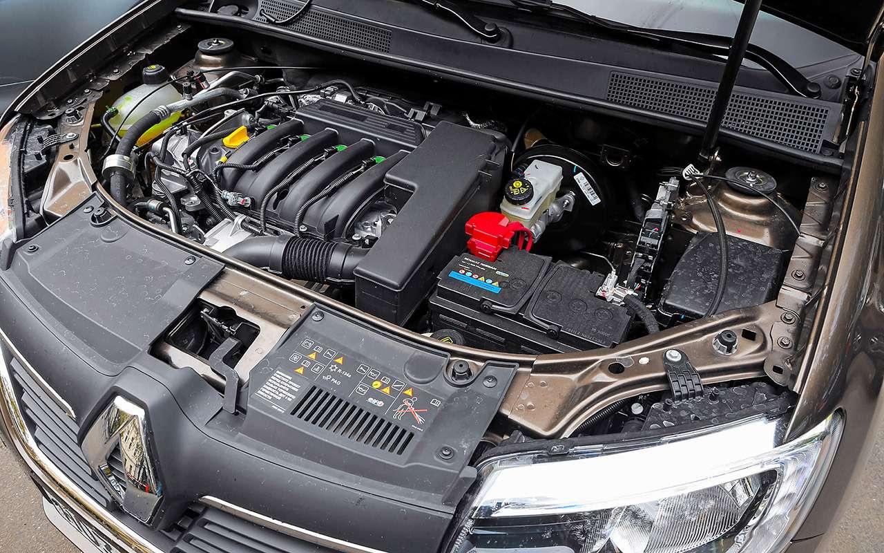 Большой тест обновленных бюджетников: Лада Гранта против Renault Logan— фото 914261