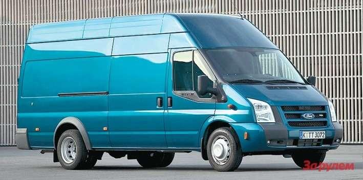 Самый большой фургон Jumbo вмещает 14кубометров груза