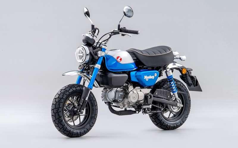 Обновленный Honda Monkey 125: маневренный городской малыш