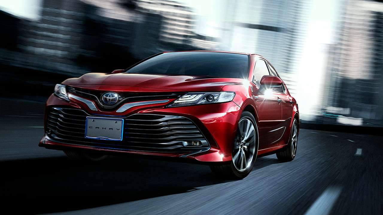 Одна навсех: новая Toyota Camry добралась дородины— фото 753377