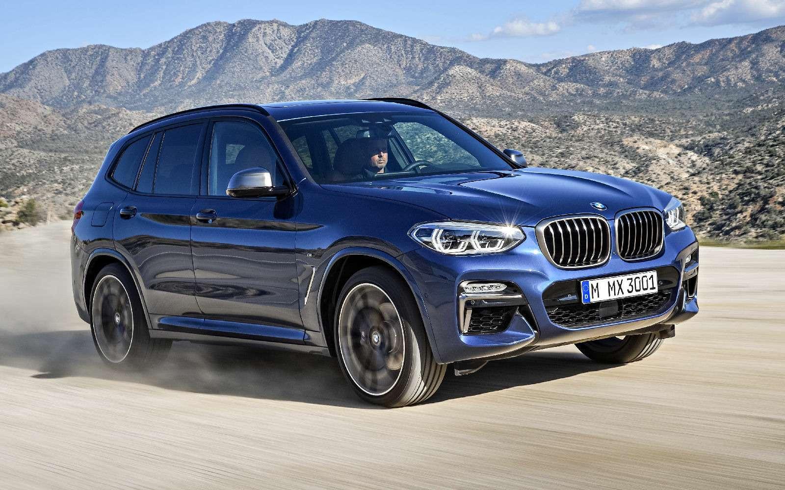 Новый BMW X3оказался крупнее старого Х5— фото 768552
