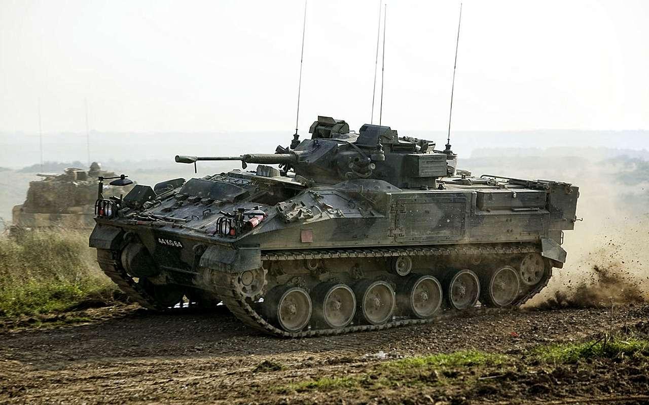 Наша БМП-3 против британского Warrior: артиллерийская дуэль— фото 857750