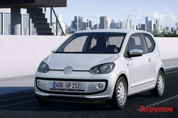 Volkswagen up! side-front view
