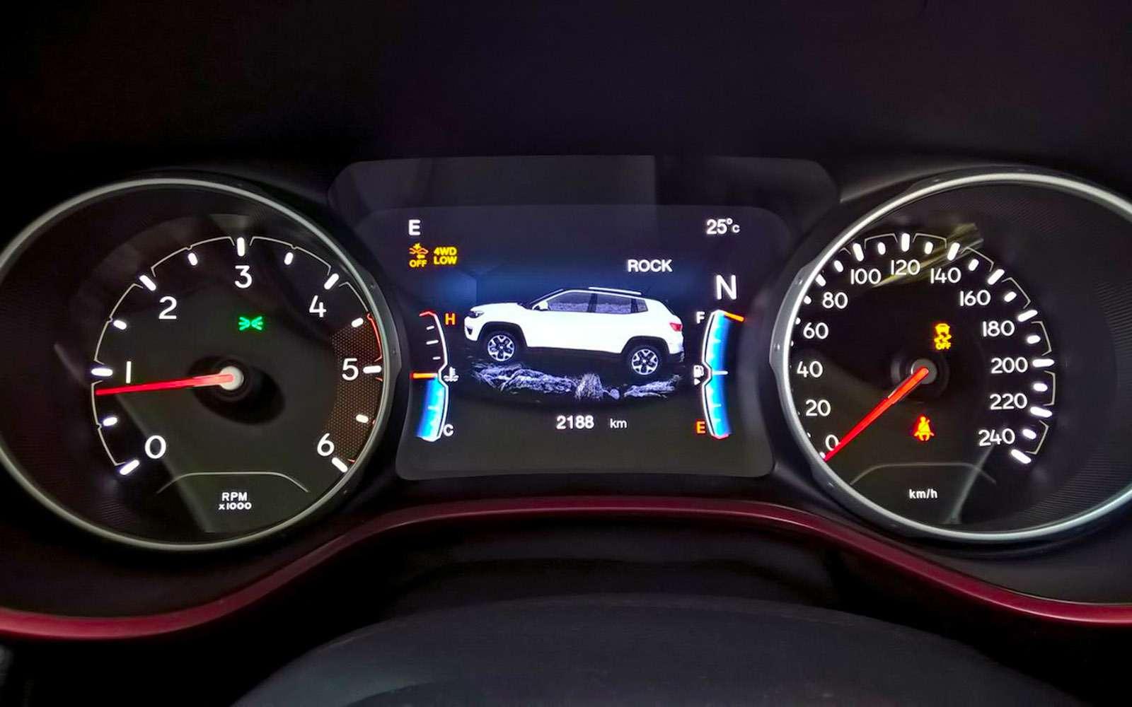 Новый Jeep Compass— тест-драйв ЗР— фото 778107