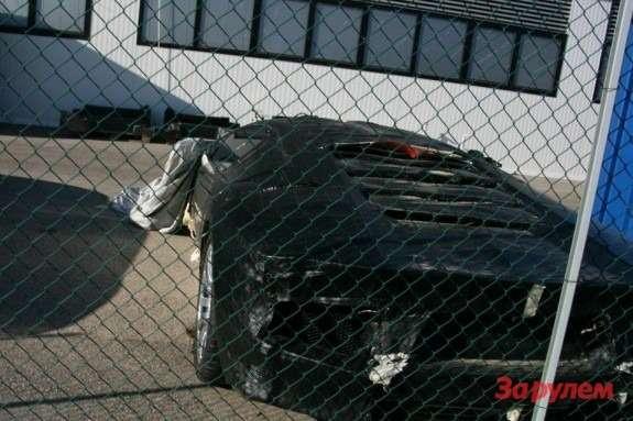 Lamborghini Aventador test prototype 3