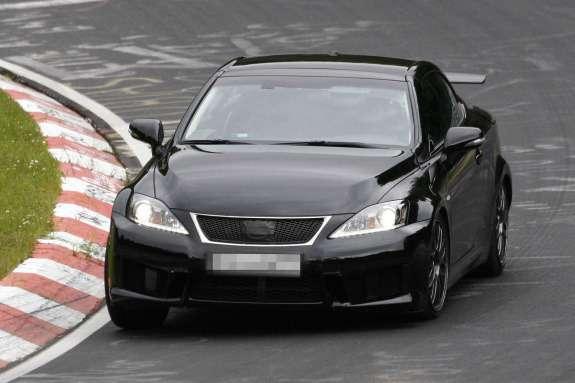 Lexus IS-F Ctest prototype front view_no_copyright