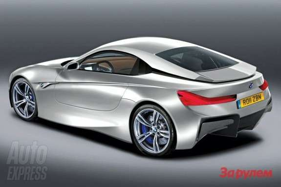 BMW M2 rendering by Auto Express rear view