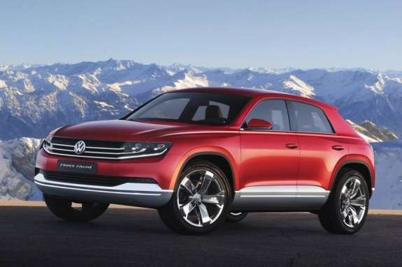 Volkswagen Cross Coupe TDI plug-in hybrid Concept side-front view