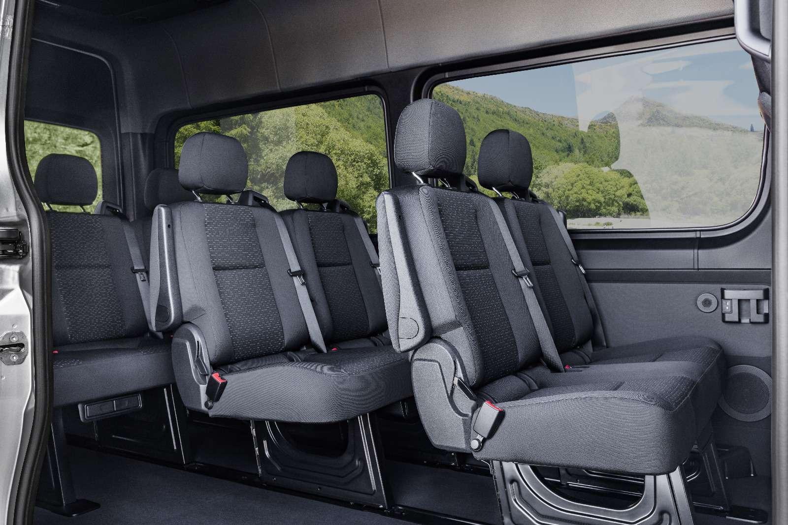 Новый Mercedes-Benz Sprinter: передний привод идо5,5т груза— фото 842792