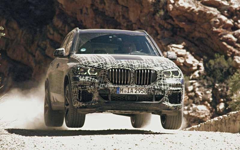 Новый BMW X5: первые фото иинформация