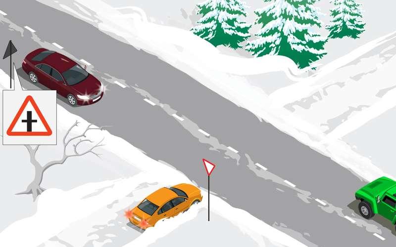 Снежная ловушка: дать газу или притормозить?