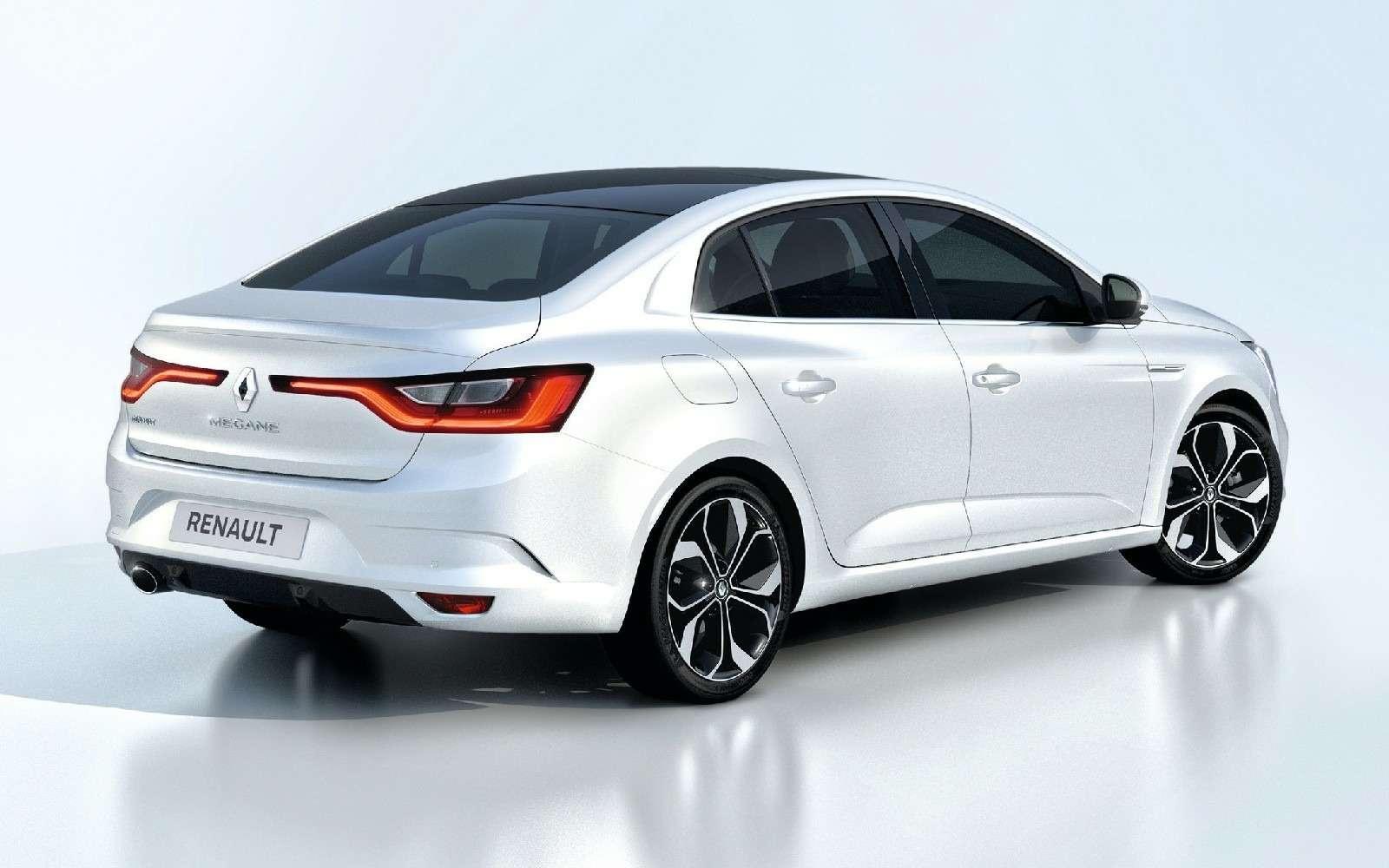 ИзТурции слюбовью: представлен новый седан Renault Megane— фото 607495