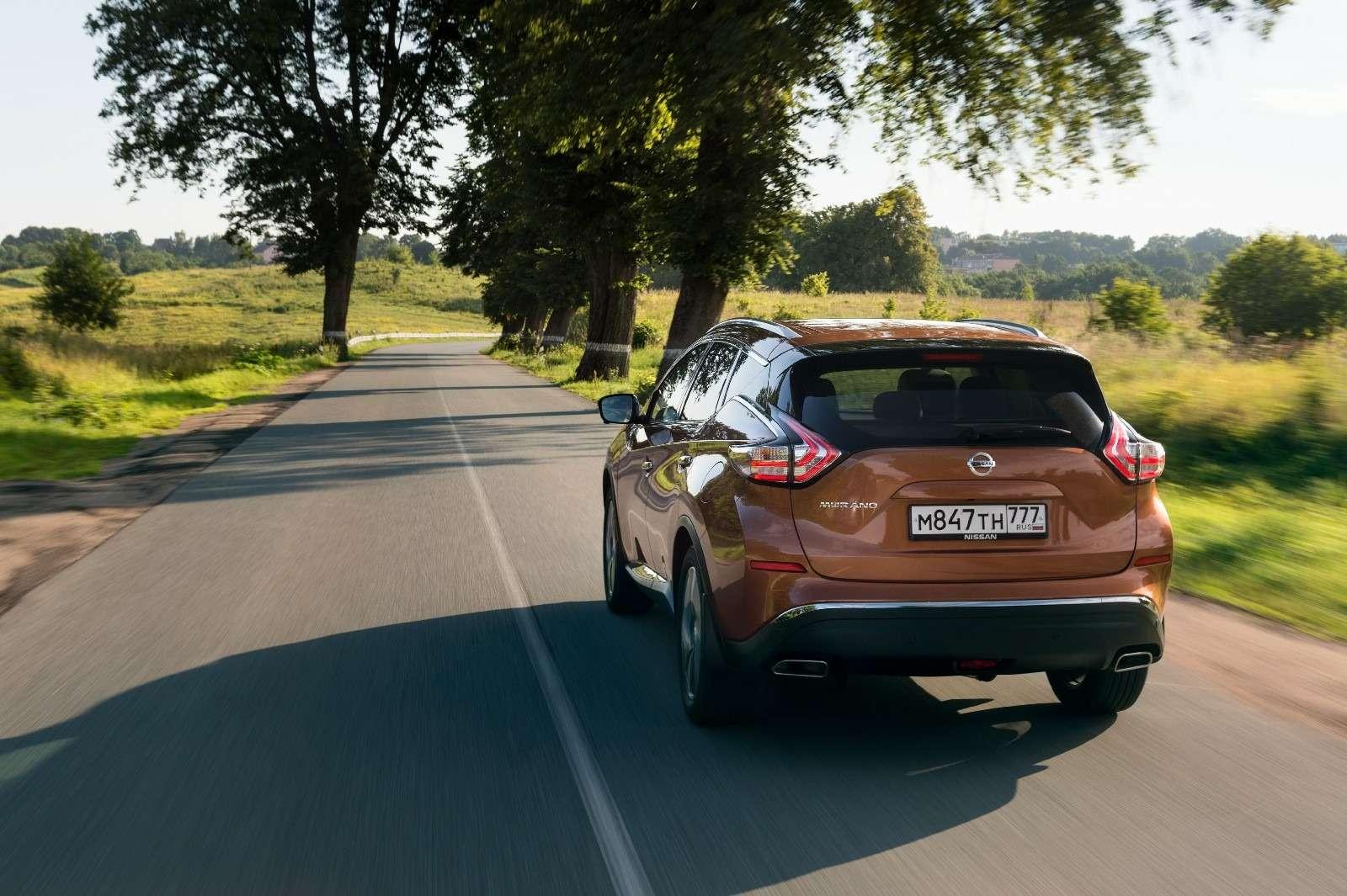 Объявлены рублевые цены нановый Nissan Murano— фото 614367