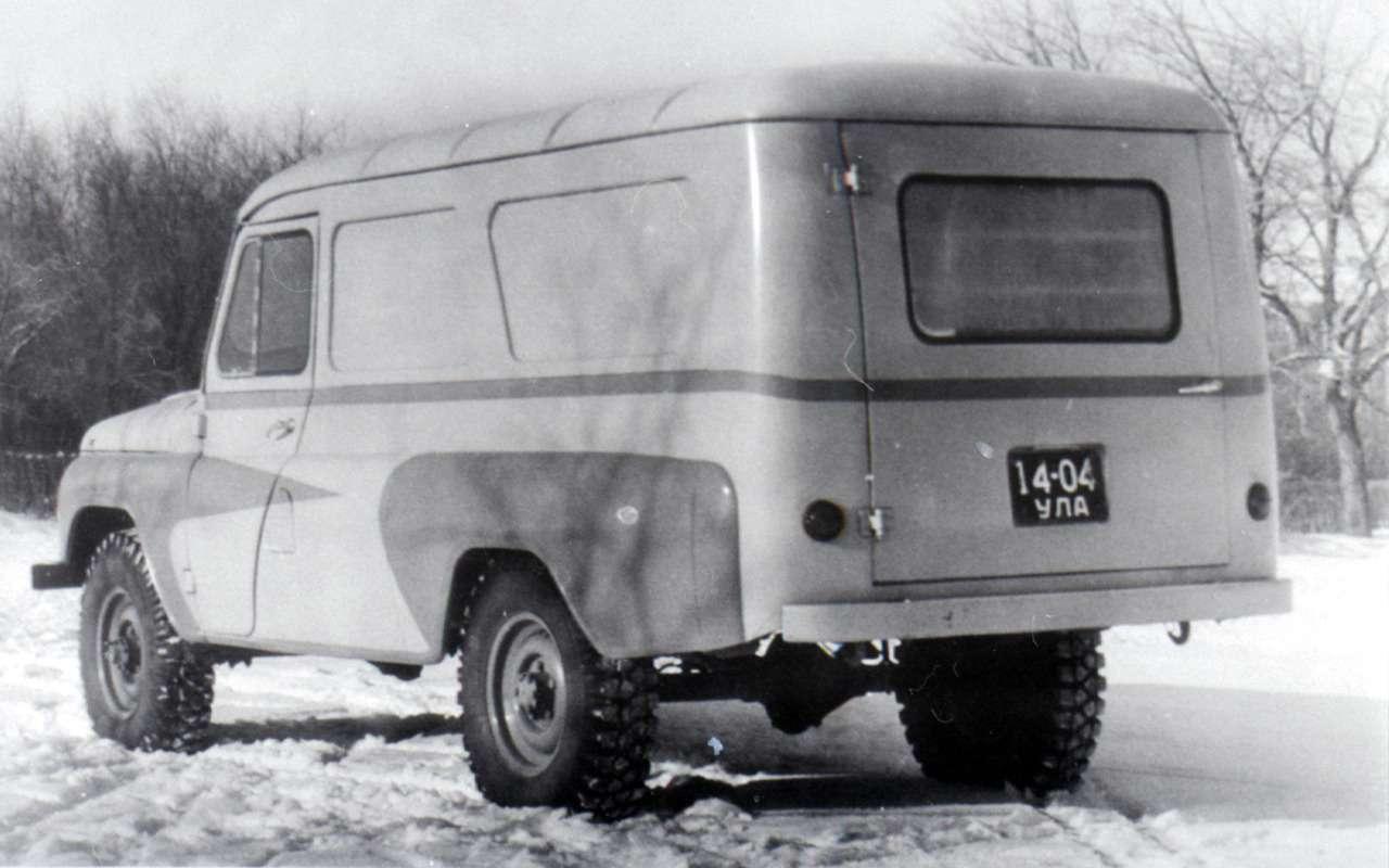 «Козлик» УАЗ-469— таких модификаций выточно невидели!— фото 978717