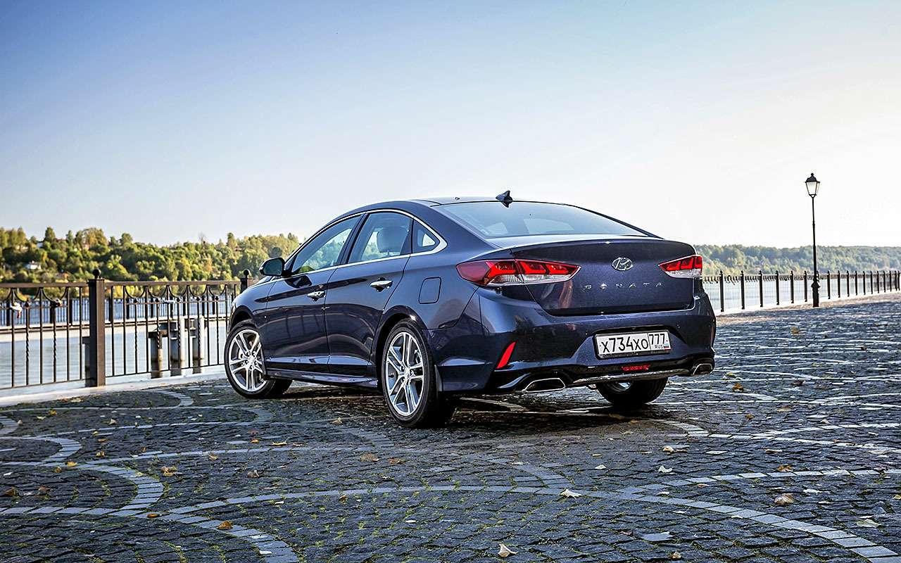 Новая Hyundai Sonata— первый тест-драйв— фото 798498