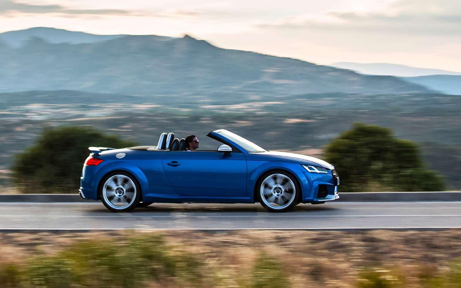 Новый Audi TTRS: дым без огня— фото 661573
