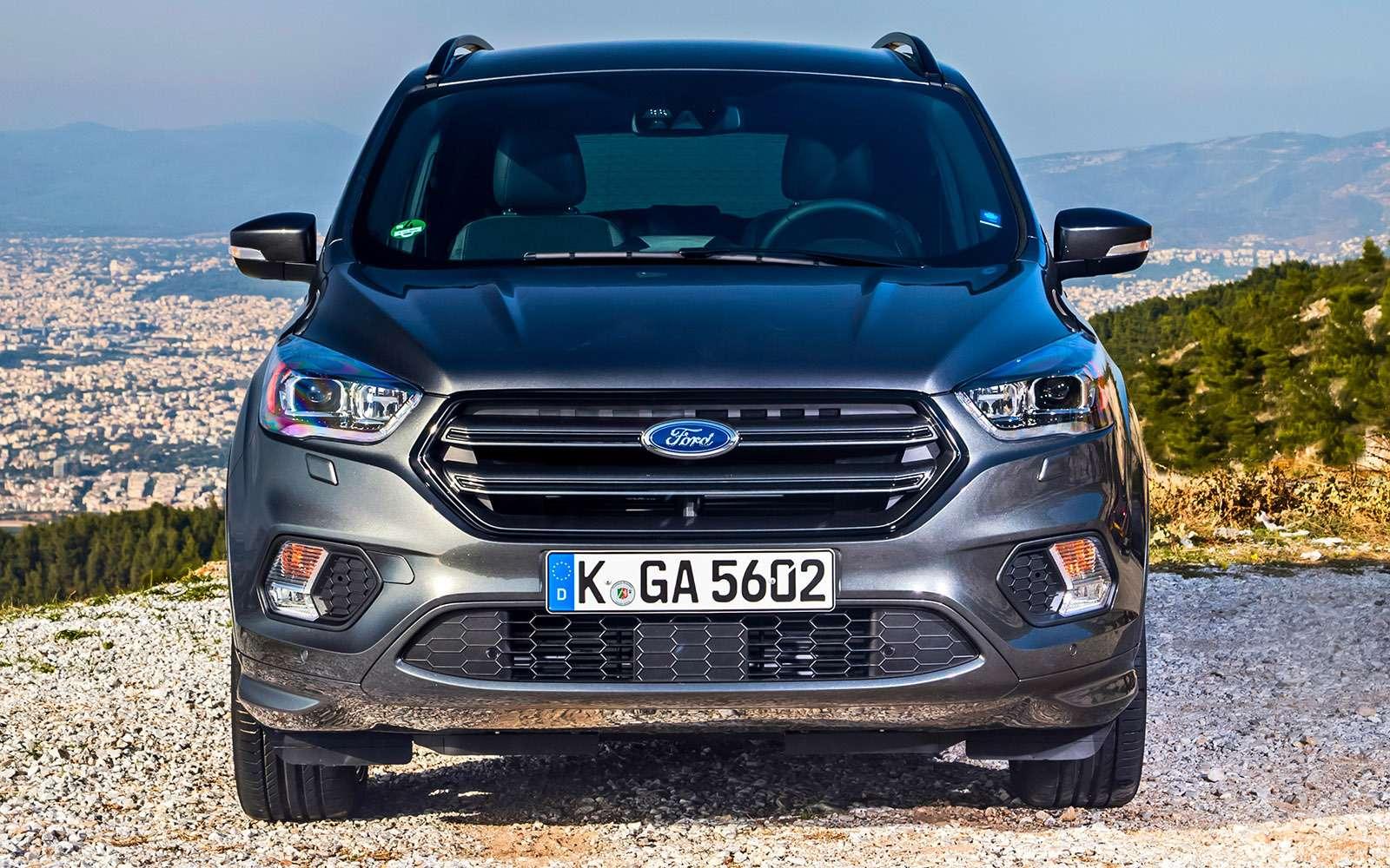 Обновленный Ford Kuga российской сборки: мыпоездили нанем первыми!— фото 674496