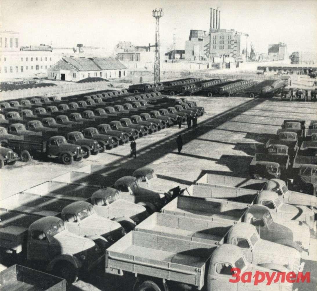 В 1958 году завод вЧанчуне выпустил 18000 грузовых автомобилей