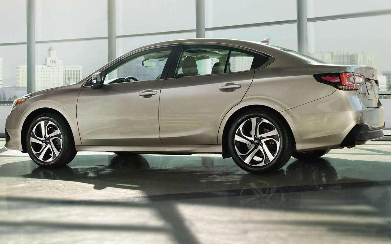 Subaru представила новое поколение Legacy: ждем вРоссии— фото 947323